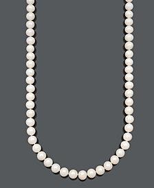Belle de Mer Cultured Freshwater Pearl Strand Necklace (9-1/2-10-1/2mm) in 14k Gold