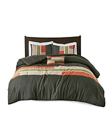Pipeline 4-Pc. Reversible King/California King Comforter Set