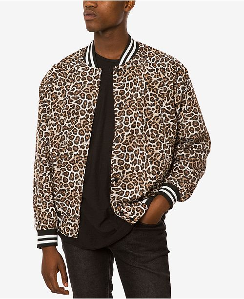 e9d8286096 Jaywalker Men's Animal-Print Jacket & Reviews - Coats & Jackets ...
