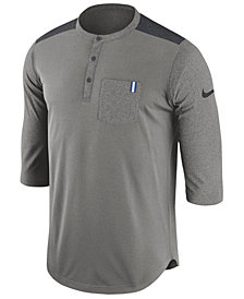 Nike Men's Kentucky Wildcats Dri-Fit Henley T-Shirt
