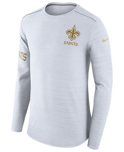 9454d21000 ... Nike Men's New Orleans Saints Color Rush Player Top Long Sleeve T- ...