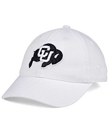 Top of the World Women's Colorado Buffaloes White Glimmer Cap