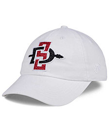 Top of the World Women's San Diego State Aztecs White Glimmer Cap