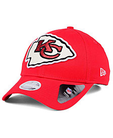 New Era Women's Kansas City Chiefs Glitter Glam 9TWENTY Strapback Cap