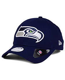 New Era Women's Seattle Seahawks Glitter Glam 9TWENTY Strapback Cap