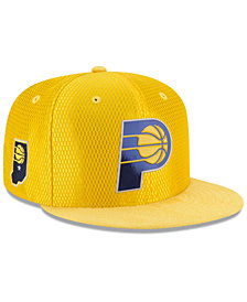 New Era Indiana Pacers On Court Reverse 9FIFTY Snapback Cap