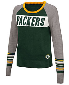 Touch By Alyssa Milano Women's Green Bay Packers Team Spirit Sweater