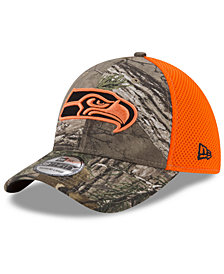 New Era Seattle Seahawks Realtree Hunter Neo 39THIRTY Cap