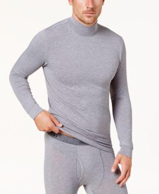 Men's Base Layer Mock Turtleneck Shirt