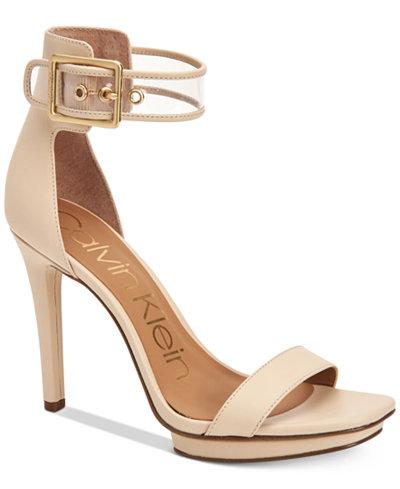 Calvin Klein Women's Vable Sandals