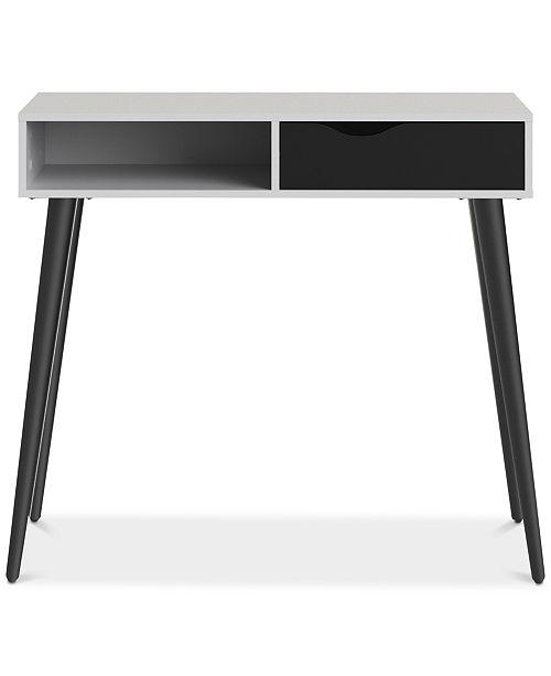 Furniture Sorena Desk with Drawer, Quick Ship
