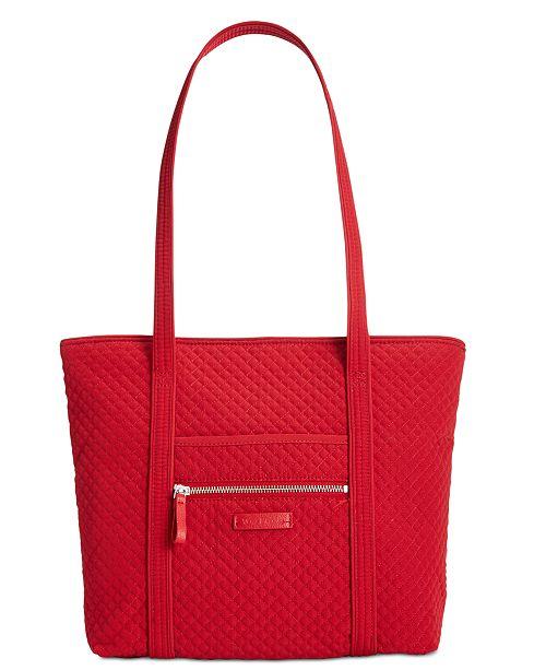 Vera Bradley Iconic Small Vera Tote - Handbags   Accessories - Macy s ff26ab66f6