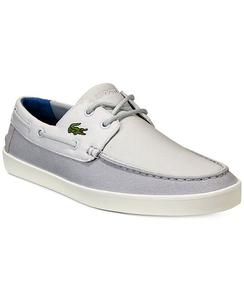 a19adc8ebbc2 Lacoste Men s Keellson 217 Boat Shoes  Lacoste Men s Keellson 217 Boat ...