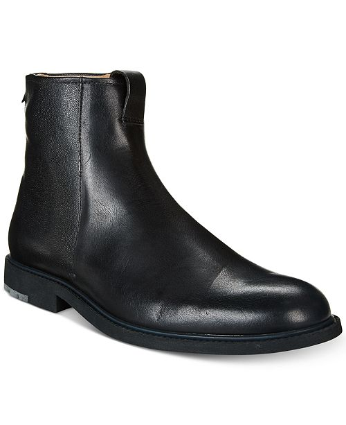 info for limited guantity elegant in style Hugo Boss HUGO Men's Cultural Roots Chelsea Zip Boots ...