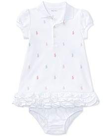 폴로 랄프로렌 여아용 원피스 Polo Ralph Lauren  Baby Girls Embroidered Polo Dress
