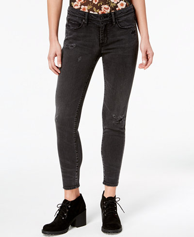 American Rag Juniors' Skinny Distressed Jeans, Created for Macy's
