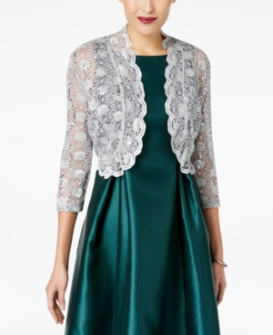 d22d641c708 UPC 882191281099 product image for R   M Richards Scalloped Sequin Lace  Bolero
