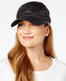 August Hats Metallic NY Baseball Cap