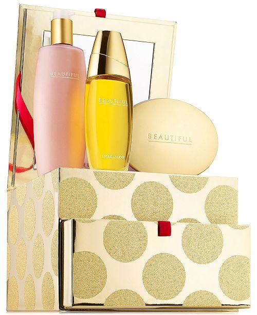 Estee Lauder 3-Pc. Beautiful Romantic Indulgences Gift Set, Created for Macy's