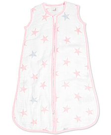 aden by aden + anais Doll Cotton Printed Sleeping Bag, Baby Girls