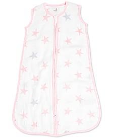 aden by aden + anais Baby Girls Doll Cotton Printed Sleeping Bag