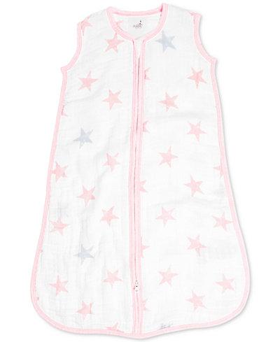 aden by aden + anais Doll Cotton Printed Sleeping Bag, Baby Girls