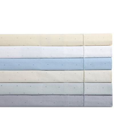 Charisma Classic Cotton Sateen 310-Thread Count Dot Sheet Set Collection