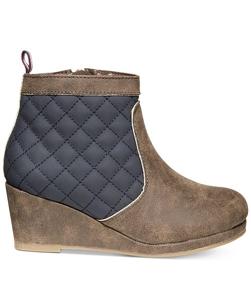 86b88186822 ... Tommy Hilfiger Cate Quilted Wedge Boots