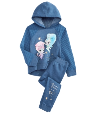 Shimmer and Shine GraphicPrint Hoodie  Jogger Pants Set Little Girls (46X)