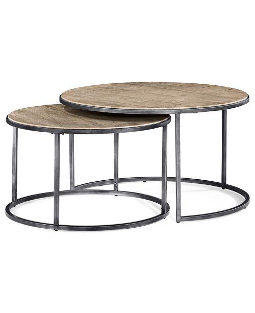 Monterey Coffee Table Round Nesting