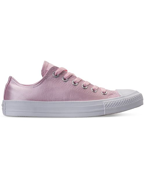 c67675917810 ... Converse Women s Chuck Taylor Ox Satin Casual Sneakers from Finish Line  ...