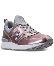 New Balance Women's 574 Synthetic Casual Sneakers from Finish Line