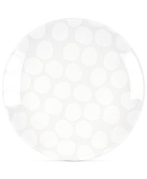 Coton Colors White Pebble Salad Plate