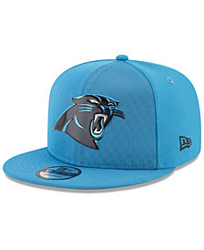 New Era Carolina Panthers On Field Color Rush 9FIFTY Snapback Cap
