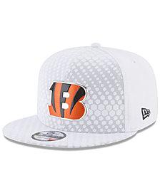 New Era Cincinnati Bengals On Field Color Rush 9FIFTY Snapback Cap