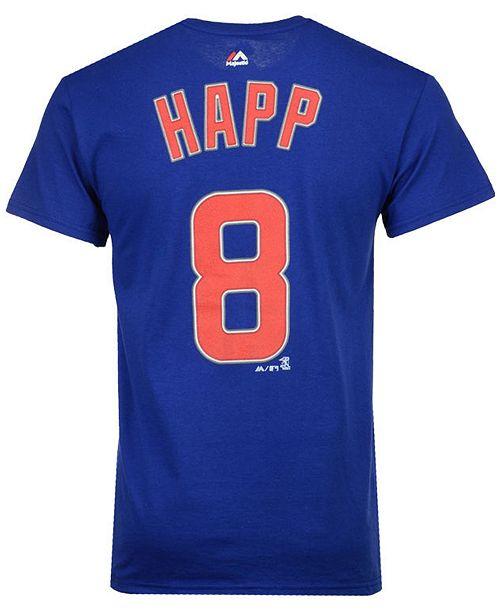 buy popular 50d36 a96d8 Men's Ian Happ Chicago Cubs Official Player T-Shirt
