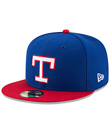 New Era Texas Rangers Turn Back The Clock 59FIFTY Fitted Cap
