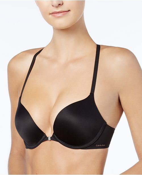 28bf58cca9444 ... Calvin Klein Perfectly Fit Push Up Multiway Racerback Bra QF1121 ...
