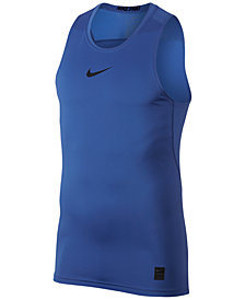 Nike Men's Pro Fitted Mesh Tank Top