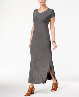 Style Amp Co Short Sleeve Maxi Dress Created For Macy S
