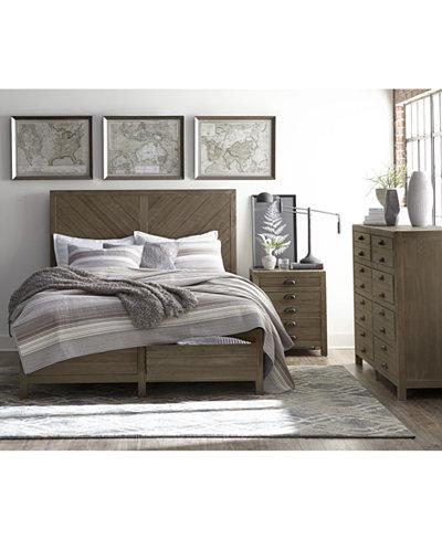 Broadstone Storage Bedroom Furniture Collection