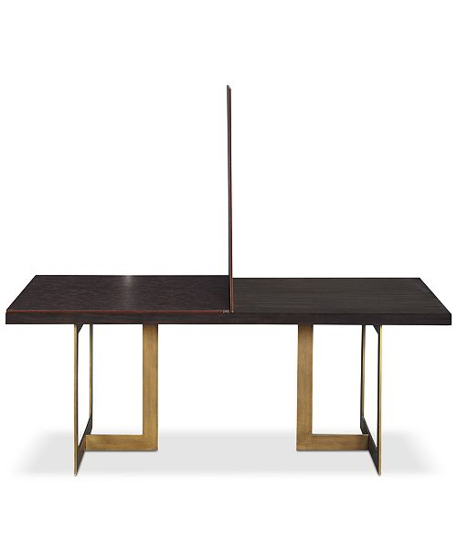 Furniture Cambridge Dining Table Pad Furniture Macys - Rectangle table pad