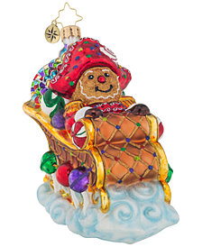 Christopher Radko Sugar Coated Sleigh Ornament