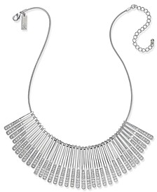 INC Gold-Tone Pavé Statement Necklace, Created for Macy's