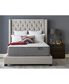 "CLOSEOUT! Serta Masterpiece Henry 14.5"" Extra Firm Mattress Set - California King, Created for Macy's"