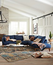 Jollene Fabric Sectional And Sofa Collection Created For Macy S