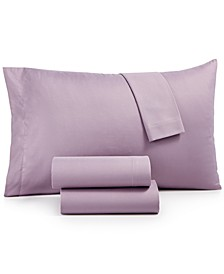 Microfiber Twin 3-Pc Sheet Set, Created for Macy's
