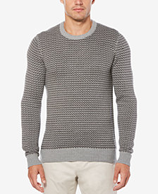 Perry Ellis Men's Herringbone Sweater