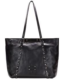 Patricia Nash Benvenuto Smooth Leather Tote