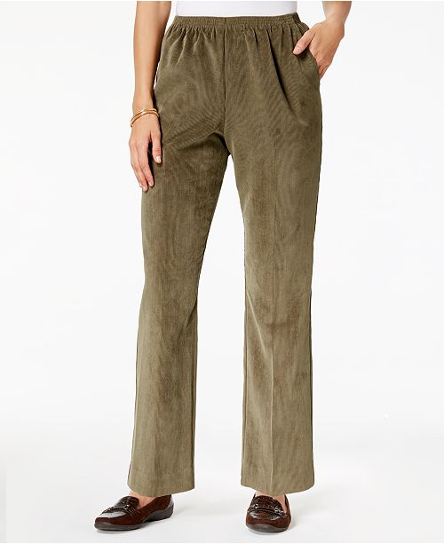 3e645148 Alfred Dunner Classics Pull-On Corduroy Pants & Reviews - Pants ...